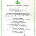 Declaração da UNESCO onde considera a Serra do Japi como Reserva da Biosfera da Mata Atlântica do Cinturão Verde da Cidade de São Paulo.