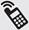 símbolo telefone móvel celular [menor], Phone icons