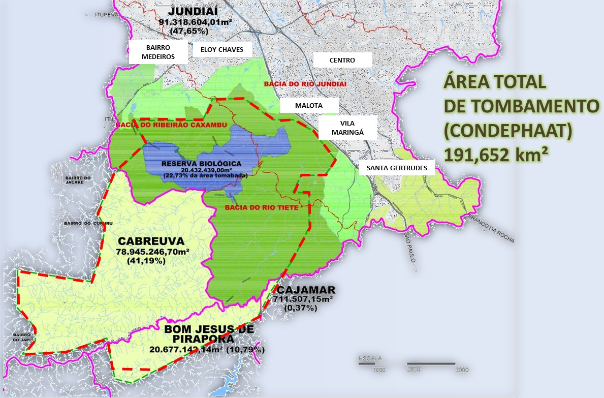 Mapas Funda O Serra Do Japi