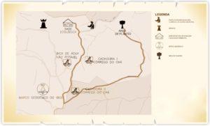 SJapi ReBio Circuito Morcegos Mapa